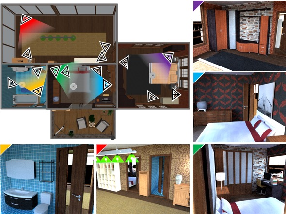 Physically-Based Rendering for Indoor Scene Understanding Using Convolutional Neural Networks